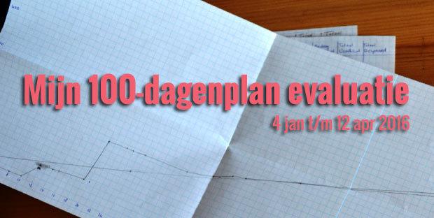 Mijn 100-dagenplan evaluatie featured image